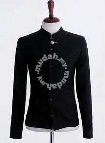 Korean Character Tunic Mens Jacket
