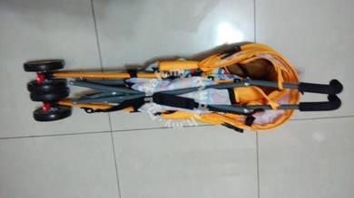 Nicebaby bb1 stroller lipat