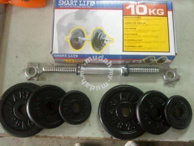 Dumbbell 10 kg set-SMARTLIFE