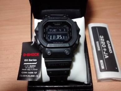 The Black King 56BB Casio G-Shock GXW-56BB -1JF