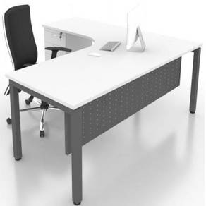 6ft x 5ft Modern L Shape Table OFMN1815LD bangsa