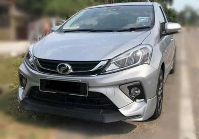 Perodua new myvi mugen rs body kit oem bodykit