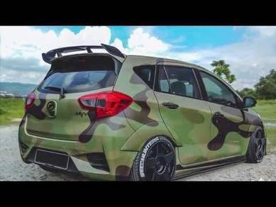 Perodua myvi a45 spoiler amg bodykit body kit