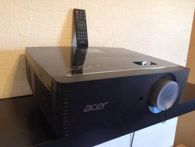 Acer P7215 1080p 3D HDMI Network DLP Professional