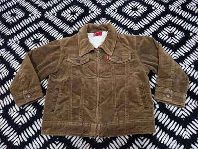 Vintage levis coudroy jacket red tab size 110 kids