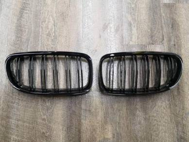 BMW E60 M5 Double Fin Front Grill E60 Gloss Black