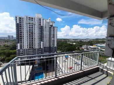 D Ambience Apartment Permas Jaya Spacious Fully Furnishe