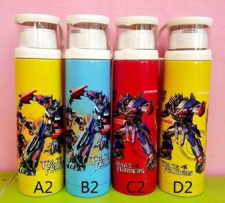 Cartoon Thermos Bottle with cup