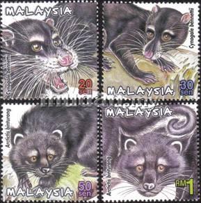 2000 Protected Mammals II Malaysia Stamp UM S1