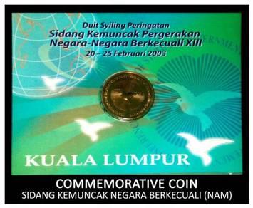 Coin Card - Sidang Kemuncak NAM XIII 2003