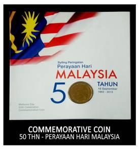 Coin Card - Perayaan Hari Malaysia Ke-50