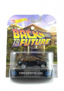 Hotwheels Retro BTTF Ford Super De Luxe