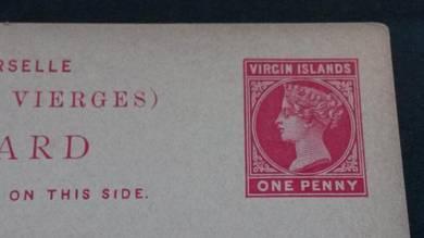 Antik Postcard VIRGoN ISLANDS Victoria PC 2031