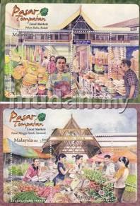 Miniature Sheet Local Markets Malaysia 2010