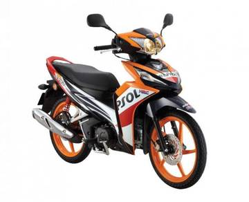Honda wave dash repsol