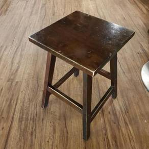Solid Wood Stool / Chair