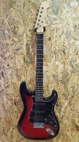 Ever Play electric guitar Sunburst Brand New