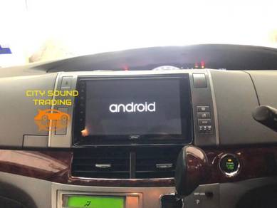 Toyota Estima Android Player Free Cam High quality
