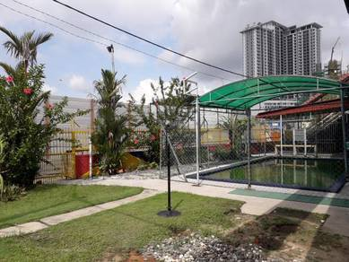 Double Storey CORNER House at Taman Len Sen, Cheras (Facing Main Road)