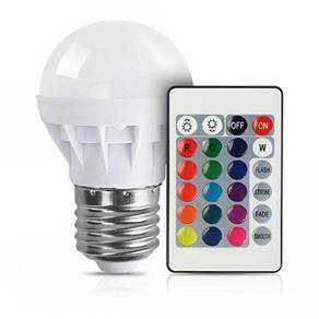 RGB LED Light Bulb With Remote Control