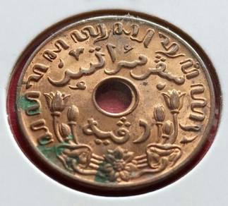 Nederlandsch Indie 1 Cent 1942 (Item B)
