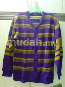 Ladies Knit Wear with Sleeves and Buttons