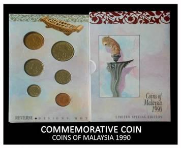 Coin Card - Coin Of Malaysia 1990