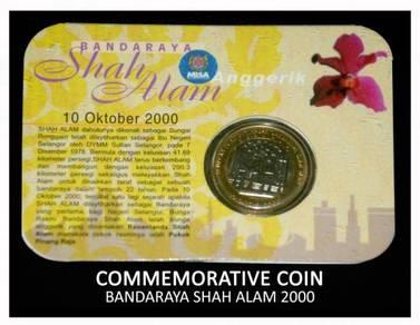 Coin Card - Bandaraya Shah Alam