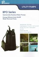 BOSSCO 100w Automatic Landscape submersible Pump