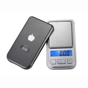 Pocket Scale 0.01g Penimbang Emas Mini EPAL Y