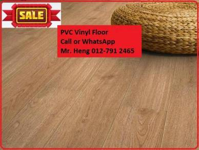 Natural Wood PVC Vinyl Floor - With Install s34f