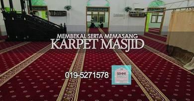 Turkiesh mosque carpet, karpet masjid pejabat