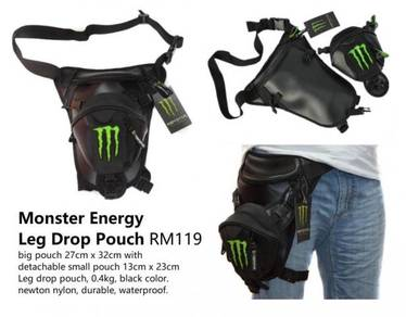 Monster Energy Leg Drop Pouch