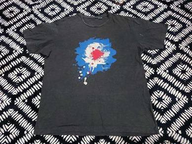 The who band t shirt by uniqlo size xl