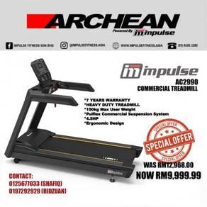 IMPULSE AC2990 Commercial Treadmill (Kelantan)