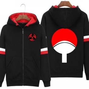 Naruto shippuden sharingan uchiha sweater jacket