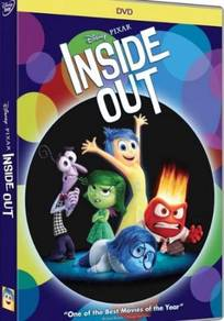 DVD Movie Inside Out