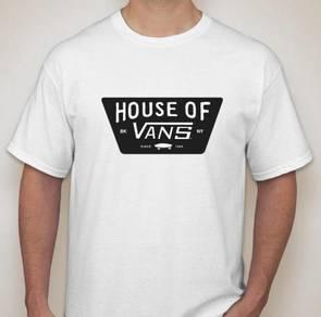 House of Vans tshirt