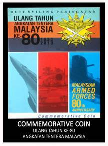 Coin Card - Malaysia Armed Forces 80th Anniversary