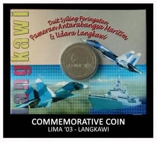 Caoin Card - LIMA Langkawi 2003
