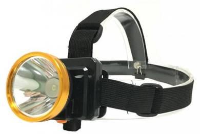 Rechargeable headlamp / lampu kepala recharge