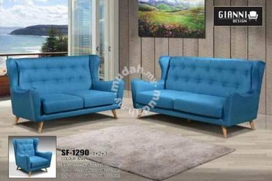 Fabric 3+1 sofa