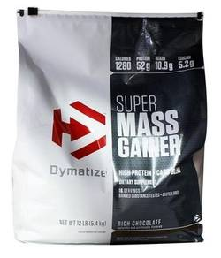 DYMATIZE SUPER MASS GAINER 12lbs - Muscle Protein
