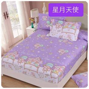 Cute Cartoon Bedsheet Set (02) 18634-02