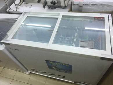 Glass door Freezer (Top Glass) Capacity 250 Ltr