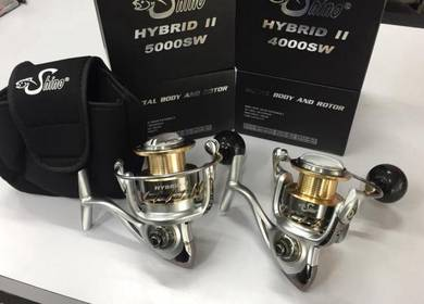 Shino Hybrid II SW 4000 /5000 Fishing Reel Pancing