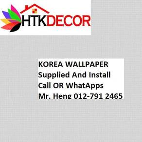 Wall paper with Installation for your HOME 17A26CY