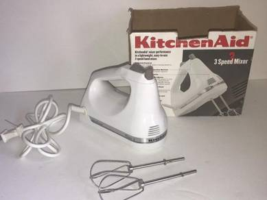 Kitchenaid Hand Mixer 3 Speed Model KHM3WH2