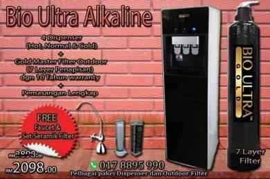 Water Filter Penapis Air Fio ULTRA cooler HALAL