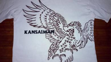 Authentic KANSAI MAN Eagle Art SzL T-Shirts